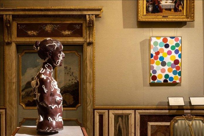 Damien-Hirst-mostra-Galleria-Borghese