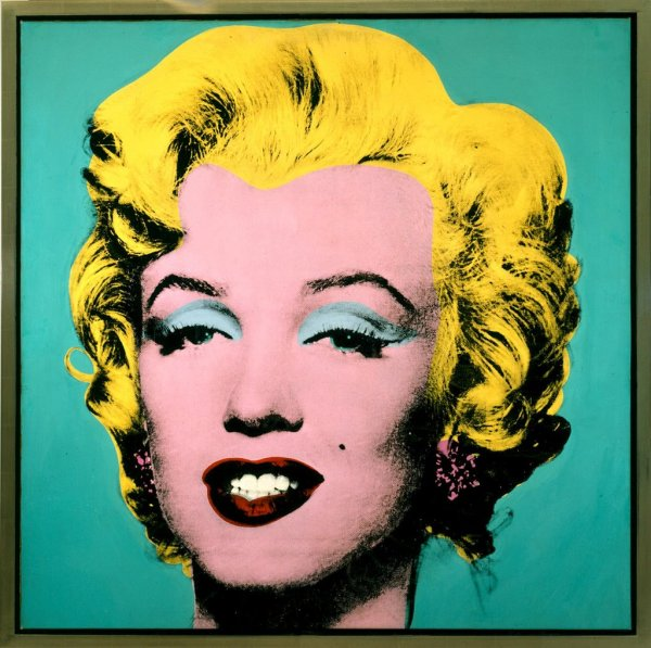 Marilyn Monroe Andy Warhol Pop Art