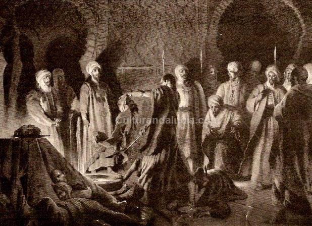Matanza de los nobles granadinos abencerrajes, via Cultura Andalucia