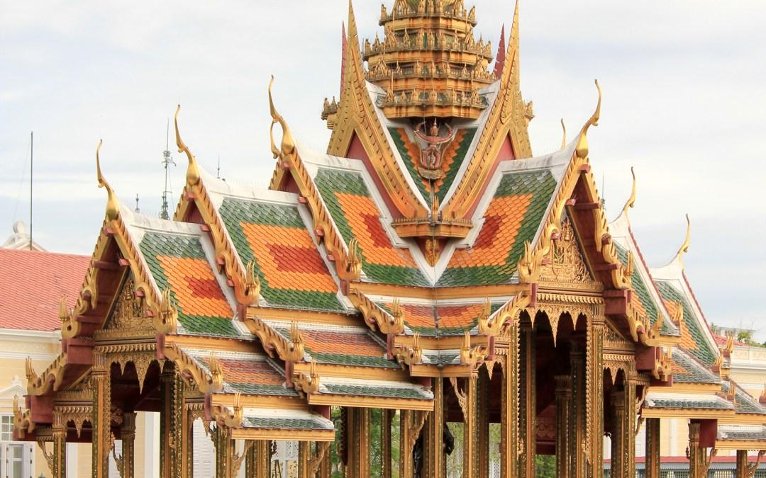Ayutthaya e a residência de verão da família Real