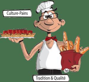Culture-Pains, boulangerie, viennoiserie, pâtisserie artisanale