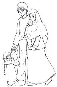 Muslim Family Animation