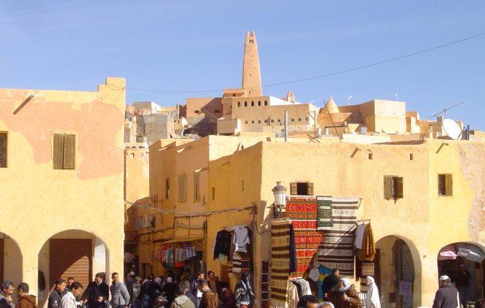 Ghardaia dans la vallée du M'zab