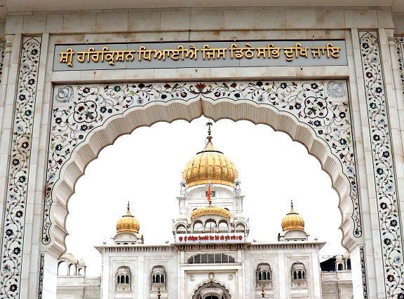 Temple Sikh-Gurudwara Bangla Sahib- Delhi