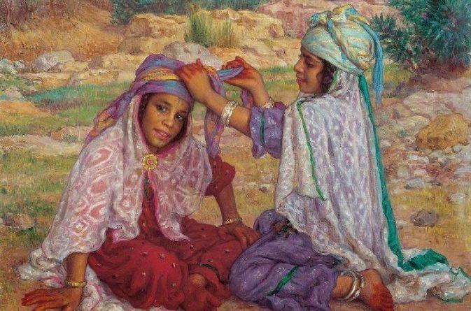 Le costume féminin de Bou-Saâda