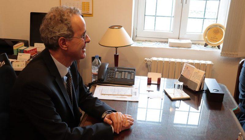 Mehmet Poroy, l'Ambassadeur de Turquie en Algérie