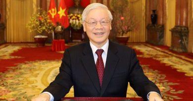 Texte du SG du Parti communiste du Vietnam et président de la République socialiste du Vietnam NGUYEN Phu Trong