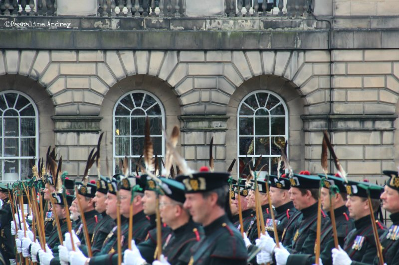 royal guards-Edinburgh