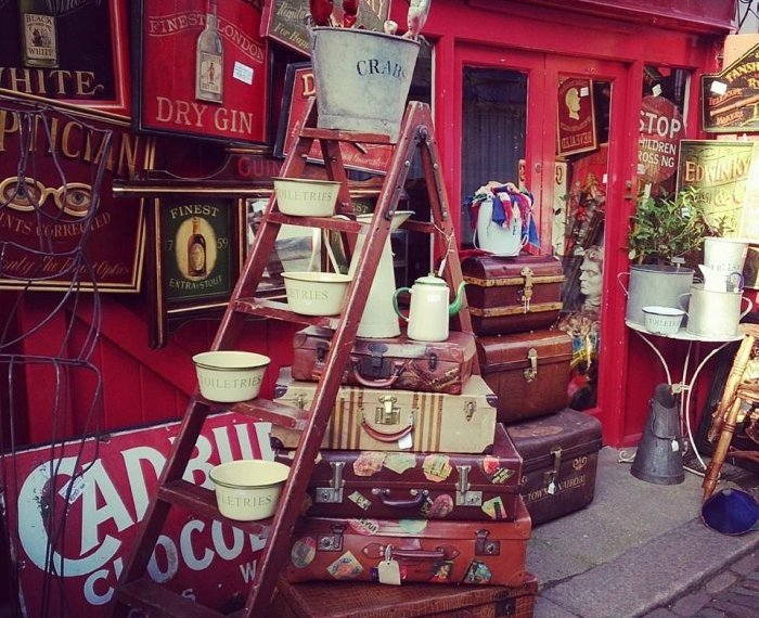 Portobello Road, London's prettiest place to shop for antiques