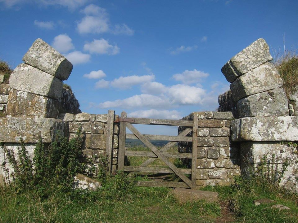 The southern Gate- hadrian wall