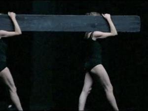 Image from video of past performance, by Sylvia Dubost