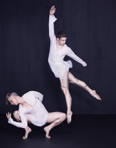 Photo of Gino Grenek and Joshua Green by Sarah Silver