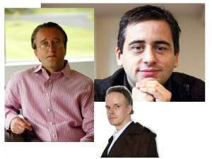 Alex Poots, Hans-Ulrich Obrist and Tom Eccles