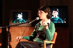 Laryssa Husiak as Billie Jean King (photo credit: James Day 2013)