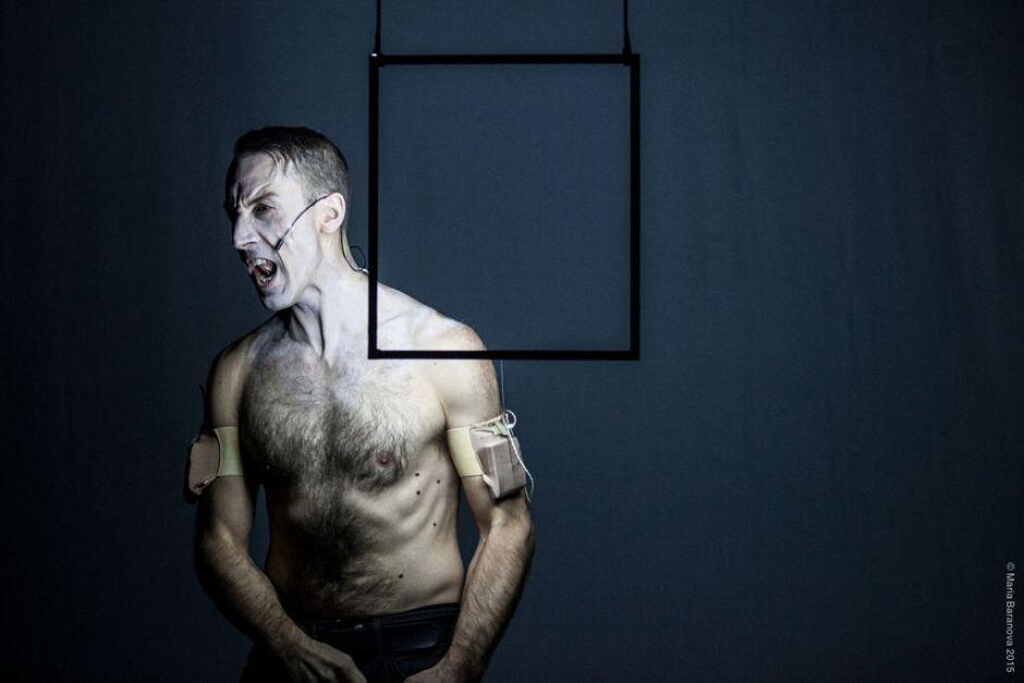 "Andrew Schenider's ""youarenowhere,"" part of Mass Live Arts 2015. Photo by Maria Baranova"