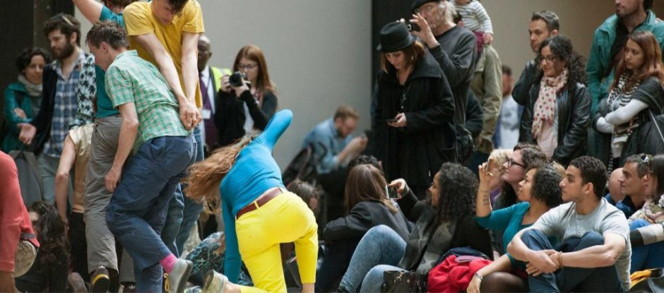 Charmatz, Boris. Levée des conflits at Tate Modern, part of BMW Tate Live: If Tate Modern was Musée de A1:N7 danse? Perfomance date: May 15 & 16 2015, © Tate, London 2015