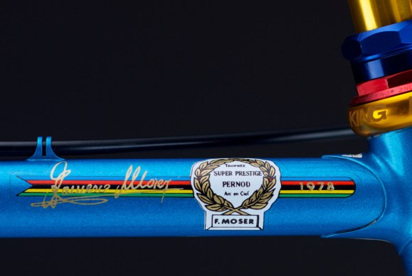 Moser World Champion 1978 Road Bike (9)