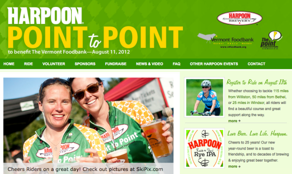 harpoon point to point ride