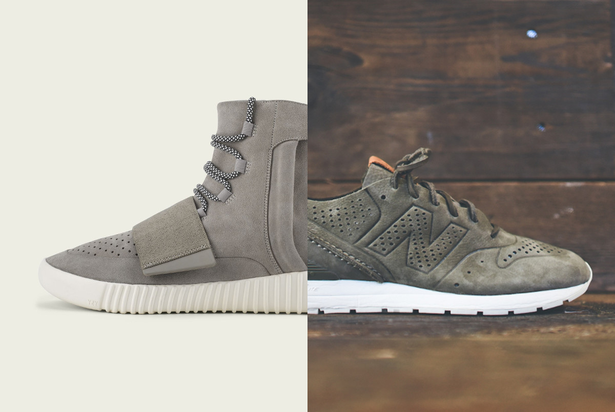 uk availability c8687 e8d77 adidas Yeezy 750 Boost vs. New Balance Deconstructed 696
