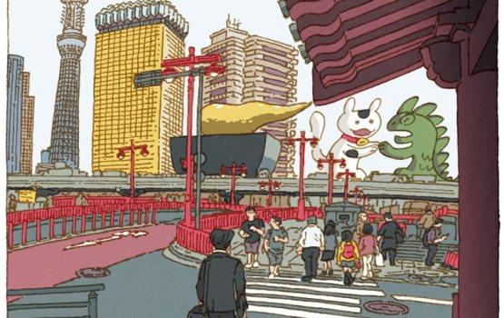 """""""โตเกียว 100 มุม"""" ภาพวาดน่ารักๆ ของมหานครที่หลายคนคุ้นเคยในมุมที่แตกต่าง"""