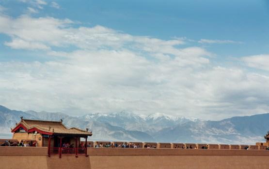 """ด่านเจียยวี่ """"กำแพงเมืองจีนฝั่งตะวันตก"""" บนเส้นทางสายไหม"""
