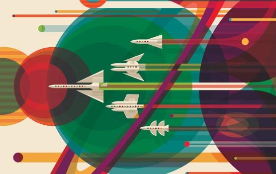 Visions of the Future ครั้งแรกกับโปสเตอร์ชวนเที่ยวอวกาศของ NASA