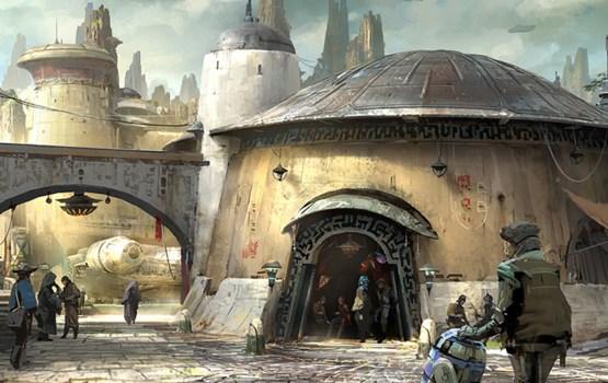Disney เผยภาพแรกการสร้าง 'ดาวใหม่' ให้ Star Wars Land ที่จะเปิดปี 2019