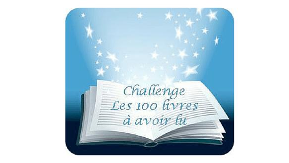 100 livres à avoir lu challenge littéraire