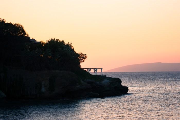 plage d'Agia Pelagia, Crète