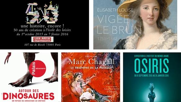 5 expositions incontournables de la rentrée 2015