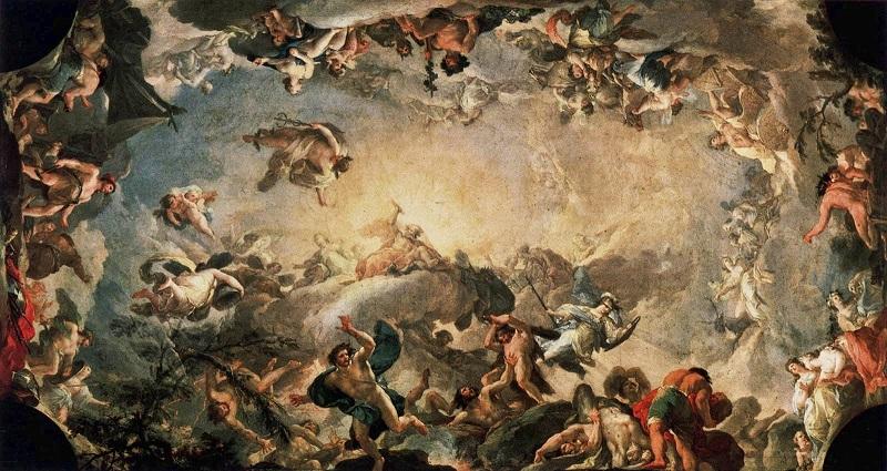 La Chute des Géants - Francisco Bayeu
