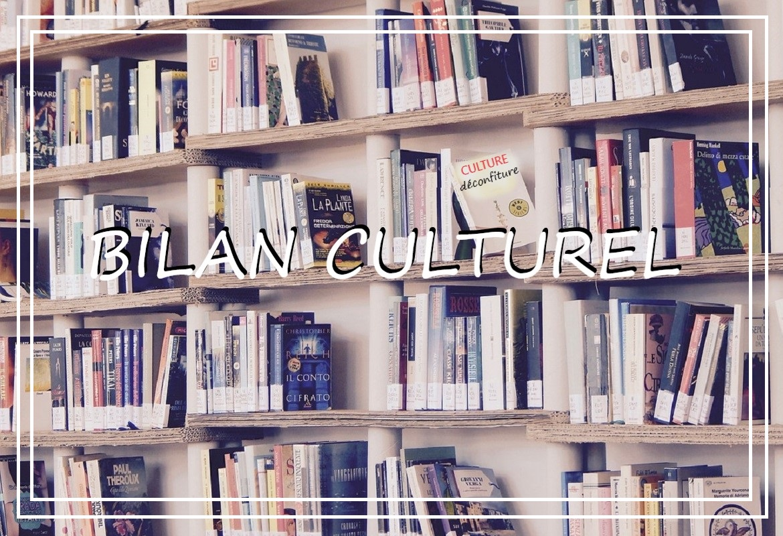 bilan culturel livres