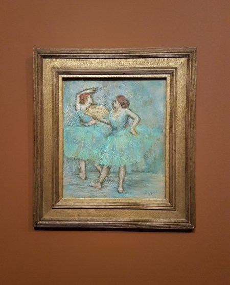 2 danseuses, Degas - The Albertina Museum, Vienna