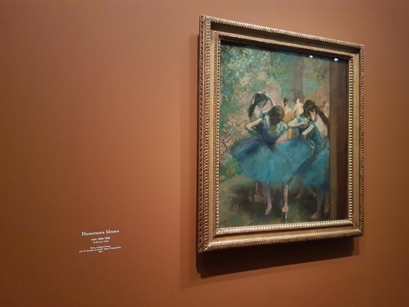 danseuses bleues, Degas - Orsay