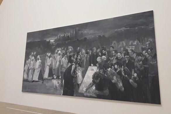 yan pei ming un enterrement à shanghai musée d'orsay exposition avis critique