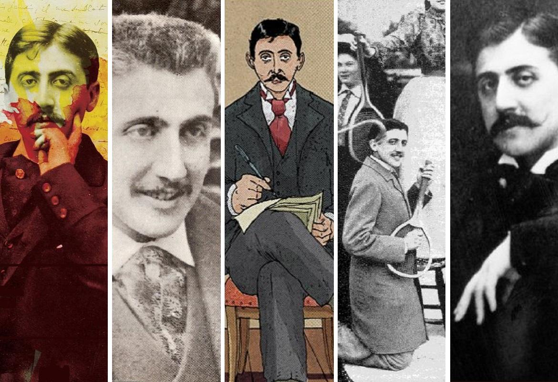 marcel Proust portrait