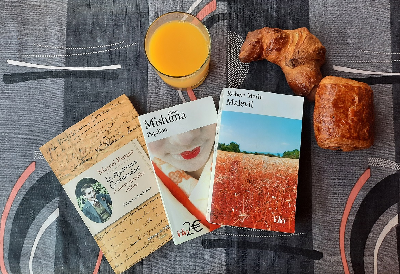 bilan culturel mishima proust merle livres