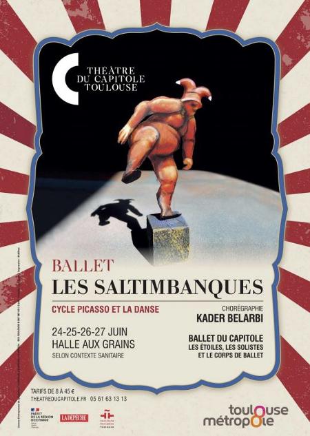 ballet les saltimbanques kader belarbi halles aux grains ballet du capitole toulouse