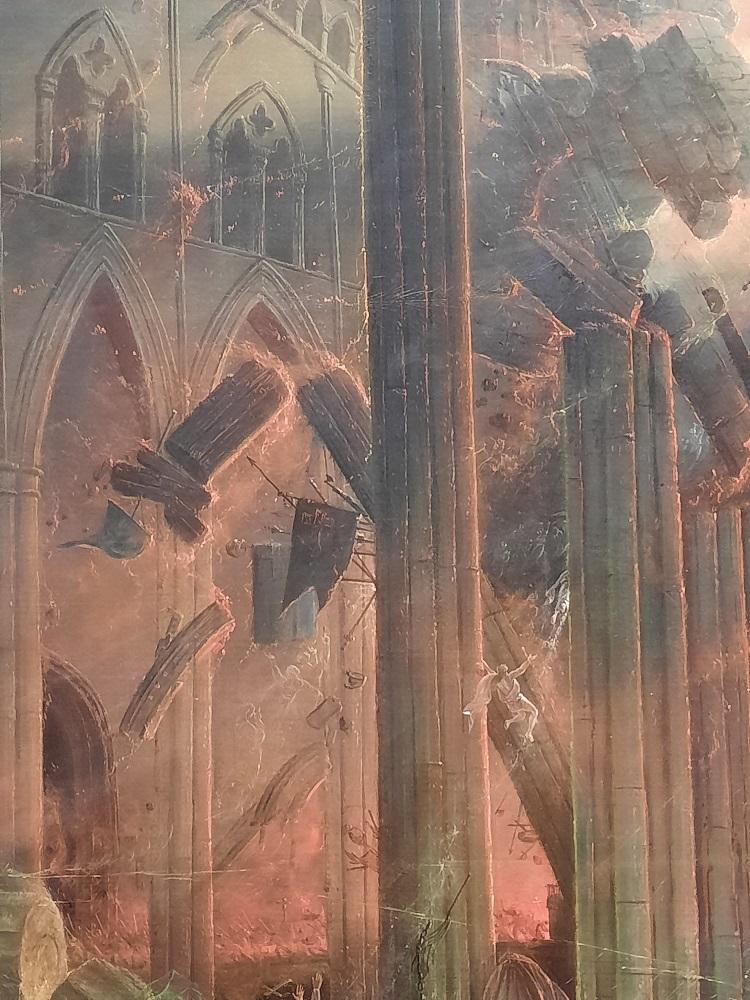 La Destruction du Temple, par Samuel Colman (1780-1845)