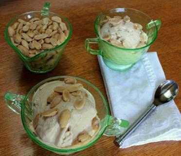 Peanut Butter Kefir Ice Cream