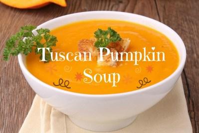 Tuscan Pumpkin Soup