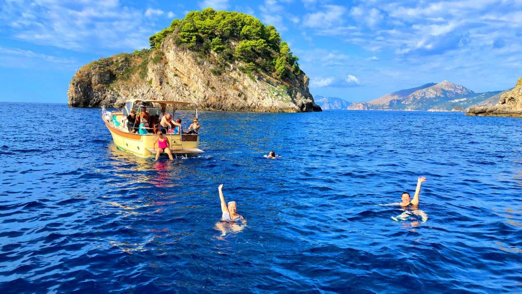 Our Amalfi Coast Vacation features a private boat trip to Capri for the day