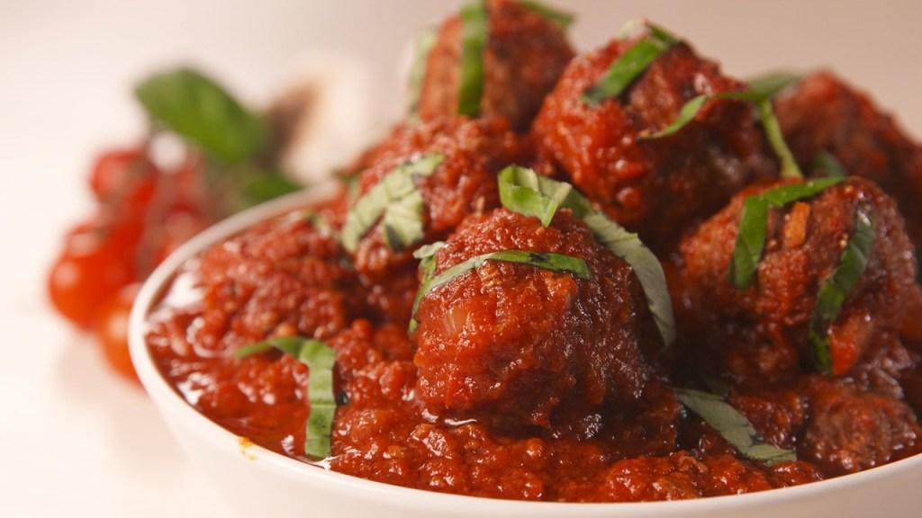 Italian style meatballs. A great weeknight recipe.