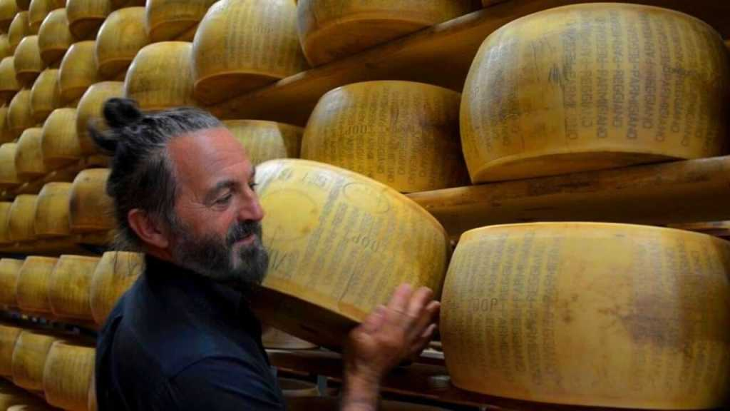 Parmesan cheese is king of cheese in Bologna