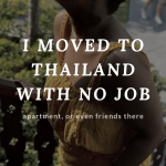 Moving to Thailand to Teach english