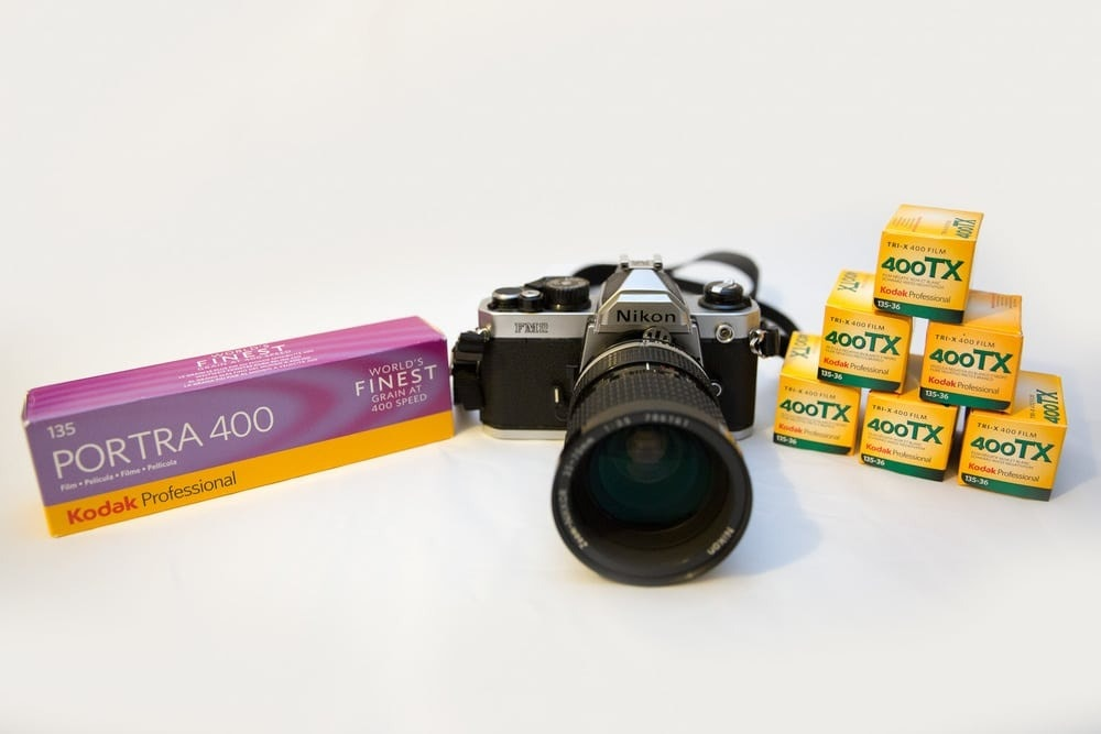 Nikon FM2 and Self Developing Film!