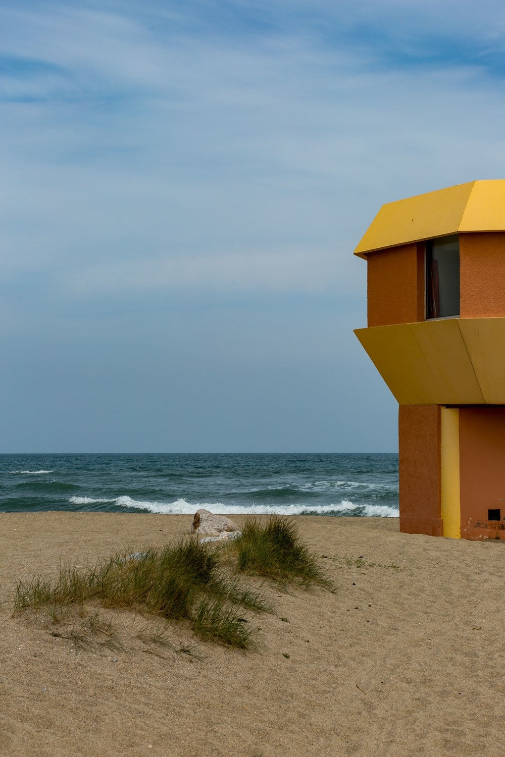 french lifeguard tower mediterranian