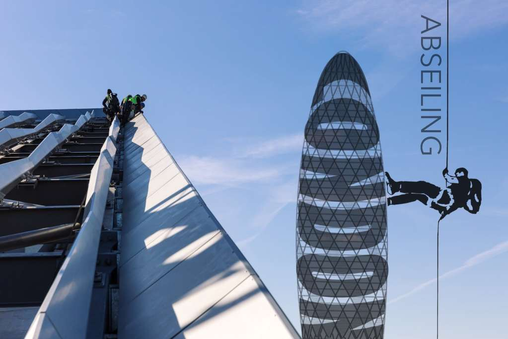 Abseiling London – A Photo Essay from a London Rooftop