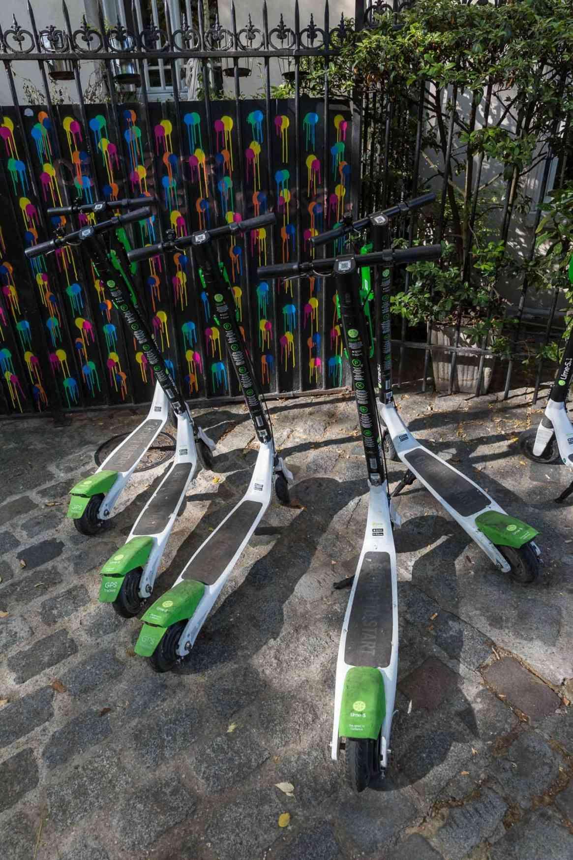 lime scooters Paris