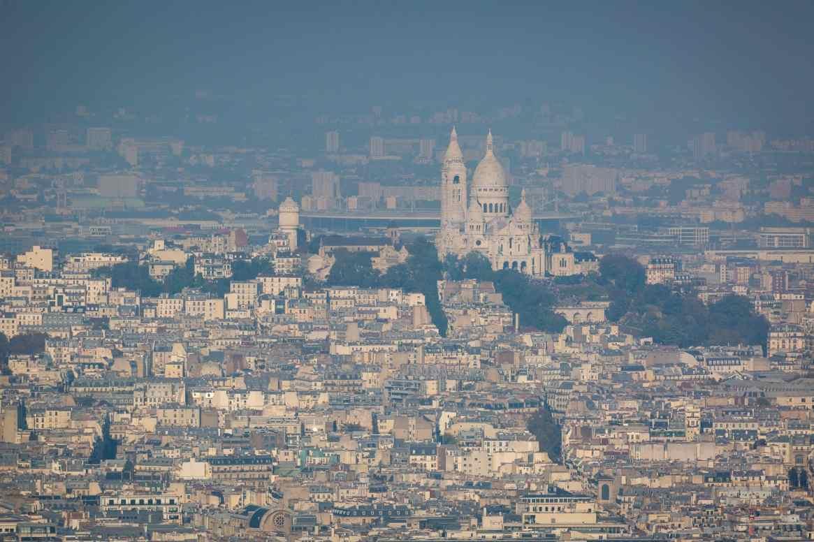 Sacré Coeur from Montparnasse
